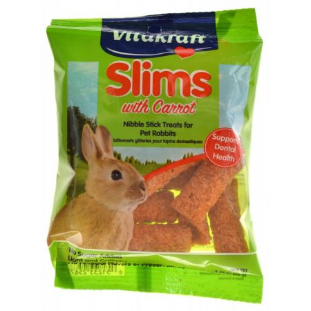 Vitakraft VitaKraft Slims with Carrot for Rabbits