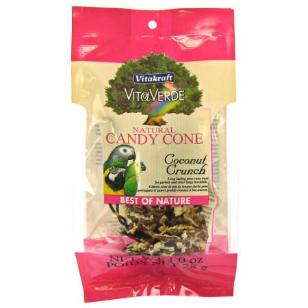 Vitakraft VitaKraft Vita Verde Natural Candy Cone with Coconut for Parrots & Hookbills
