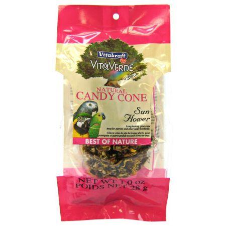Vitakraft VitaKraft Vita Verde Natural Candy Cone with Sunflower Seeds for Parrots & Hookbills