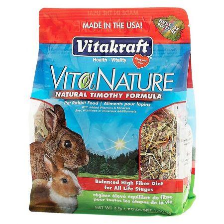 Vitakraft VitaKraft VitaNature Rabbit Food - Natural Timothy Formula