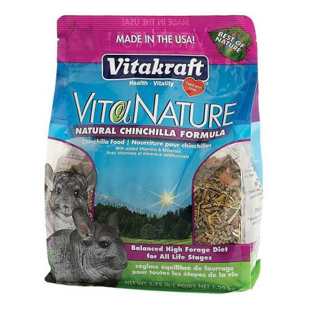 Vitakraft VitaKraft VitaNature Chinchilla Food - Natural Chinchilla Formula