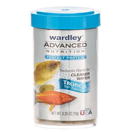 Wardley Wardley Advanced Nutrition Tropical Fish Flake Food