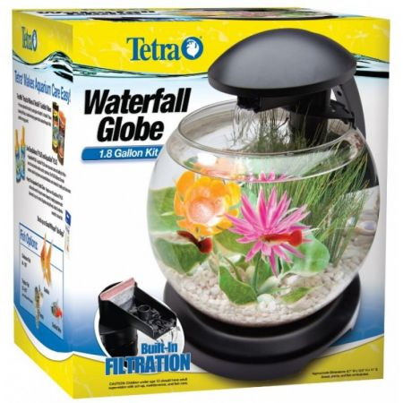 Tetra Tetra Waterfall Globe Aquarium