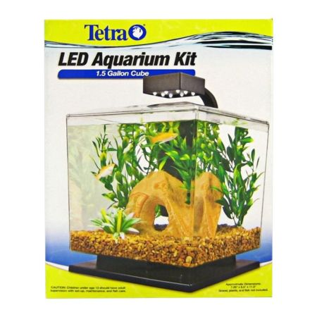 Tetra Tetra Cube Aquarium Kit with LED Lighting