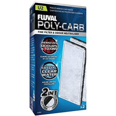 Fluval Fluval Underwater Filter Stage 2 Polyester/Carbon Cartridges