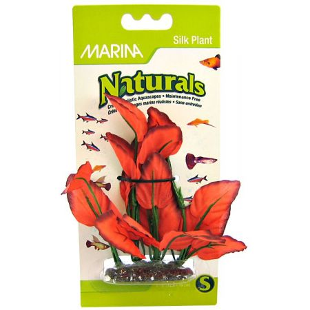 Marina Marina Silk Foreground Aquarium Plant - Red