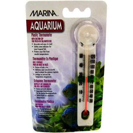 Marina Marina Plastic Thermometer with Suction Cup