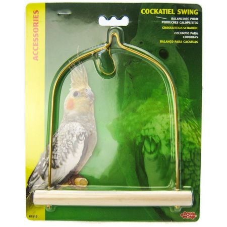 Living World Living World Cockatiel Wood Swing