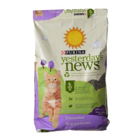 Purina Purina Yesterday's News Soft Texture Cat Litter - Unscented