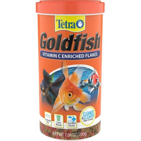 Tetra Tetra Goldfish Vitamin C Enriched Flakes