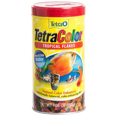 Tetra Tetra TetraColor Tropical Flakes Fish Food