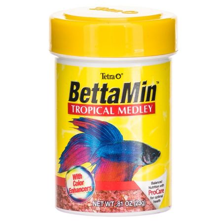 Tetra Tetra BettaMin Tropical Medley Fish Food
