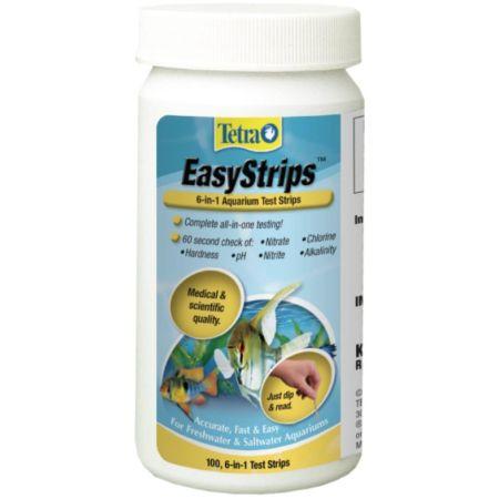 Tetra EasyStrips 6 in 1 Ammonia Aquarium Test Strips alternate view 2