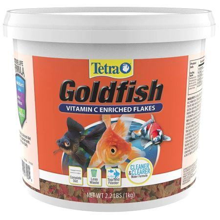 Tetra Goldfish Vitamin C Enriched Flakes alternate view 6