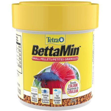 Tetra TetraBetta Floating Mini Pellets alternate view 1