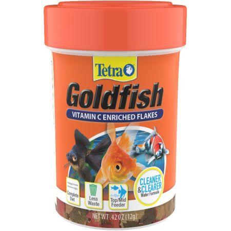 Tetra Goldfish Vitamin C Enriched Flakes