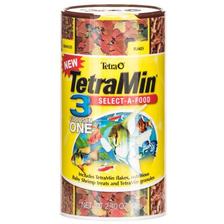 Tetra Tetra TetraMin Select-A-Food Fish Food