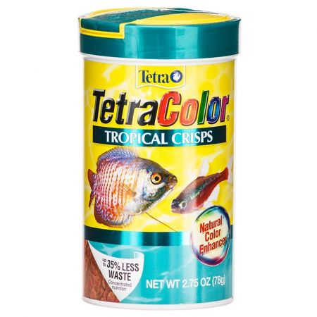 Tetra Tetra TetraColor Tropical Crisps