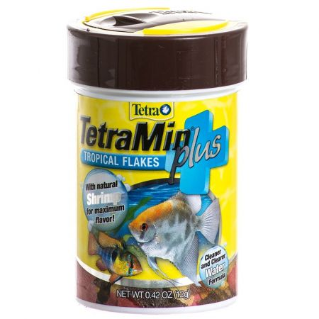 Tetra Tetra TetraMin Plus Tropical Flakes Fish Food