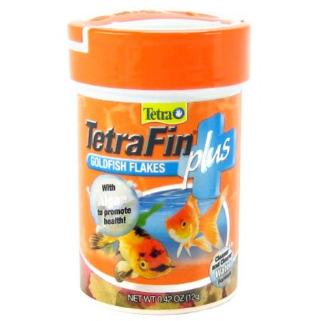Tetra Tetra TetraFin Plus Goldfish Flakes Fish Food