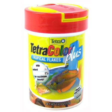 Tetra TetraColor Plus Tropical Flakes Fish Food