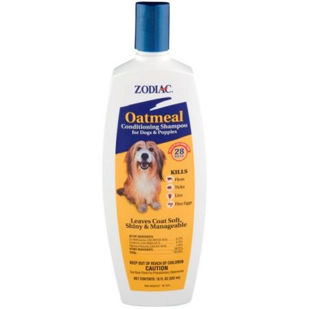 Zodiac Zodiac Oatmeal Conditioning Shampoo for Dogs & Puppies