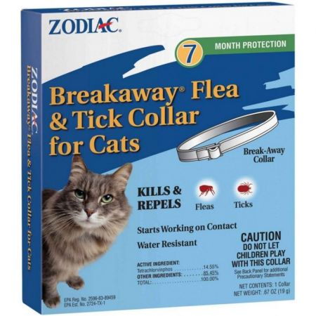Zodiac Zodiac Breakaway Flea & Tick Collar for Cats