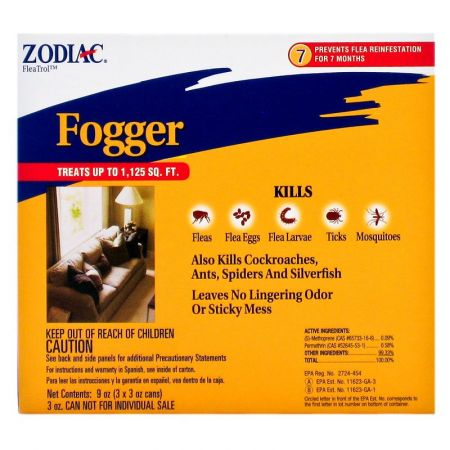 Zodiac Flea & Tick Fogger alternate view 1