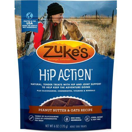 Zukes Hip Action Dog Treats - Peanut Butter & Oats Recipe
