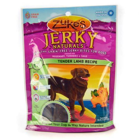 Zukes Zukes Jerkey Naturals Dog Treat - Tender Lamb Recipe