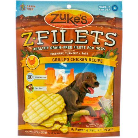 Zukes Zukes Z-Filets Dog Treat - Grilled Chicken Recipe