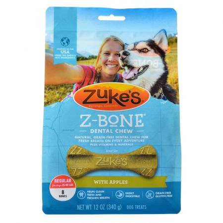 Zukes Z-Bones Dental Chews - Clean Apple Crisp alternate view 2