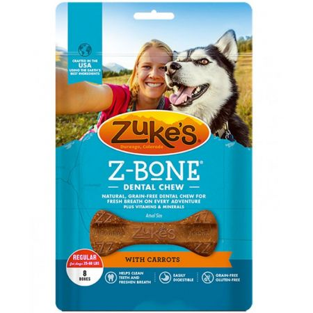 Zukes Z-Bones Dental Chews - Clean Carrot Crisp alternate view 2