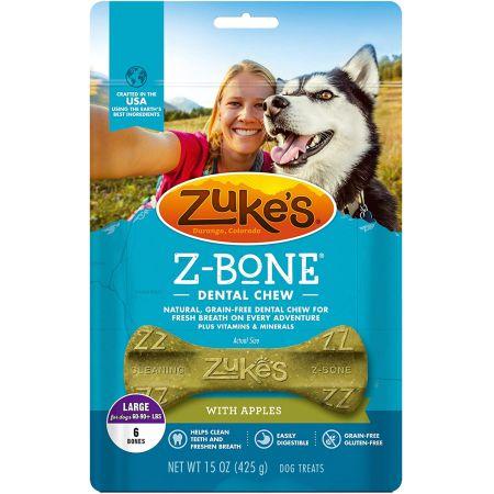 Zukes Z-Bones Dental Chews - Clean Apple Crisp alternate view 3