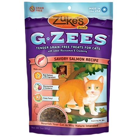 Zukes Zukes G-Zees Cat Treat - Savory Salmon Recipe