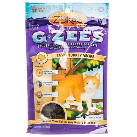 Zukes Zukes G-Zees Cat Treat - Tasty Turkey Recipe