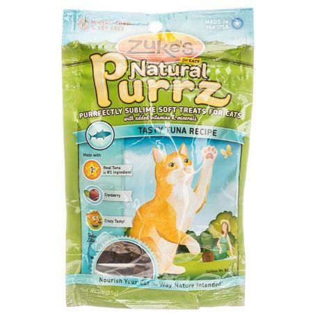 Zukes Zukes Natural Purrz Cat Treat - Tasty Tuna