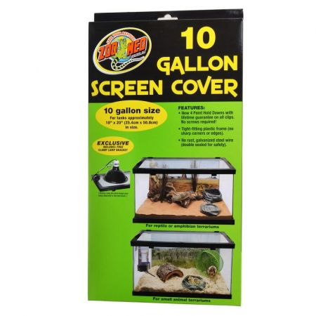 Zoo Med Zoo Med Animal Habitat 10 Gallon Screen Cover