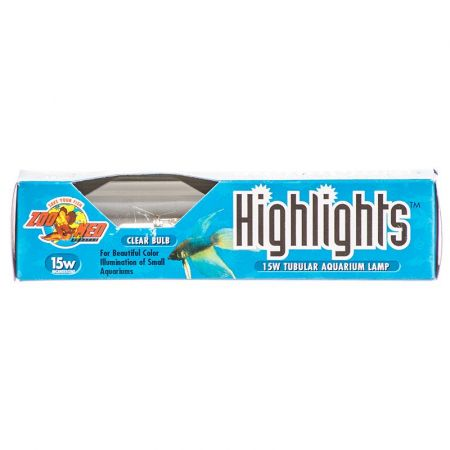 Zoo Med Highlights Aquarium Lamp - Clear alternate view 1