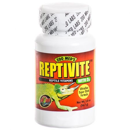 Zoo Med Zoo Med Reptivite Reptile Vitamins with D3