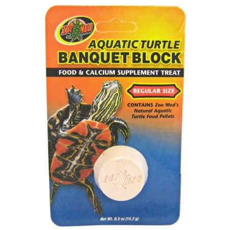 Zoo Med Zoo Med Aquatic Turtle Banquet Block