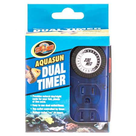 Zoo Med Zoo Med Aquatic AquaSun Dual Timer - Day & Night
