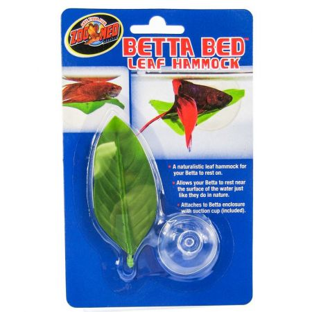 Zoo Med Zoo Med Aquatic Betta Bed Leaf Hammock