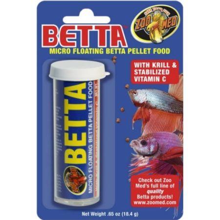 Zoo Med Aquatic Floating Betta Micro Food Pellets