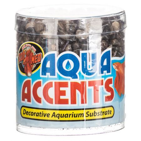 Zoo Med Zoo Med Aquatic Aqua Accents Aquarium Substrate - Dark River Pebbles