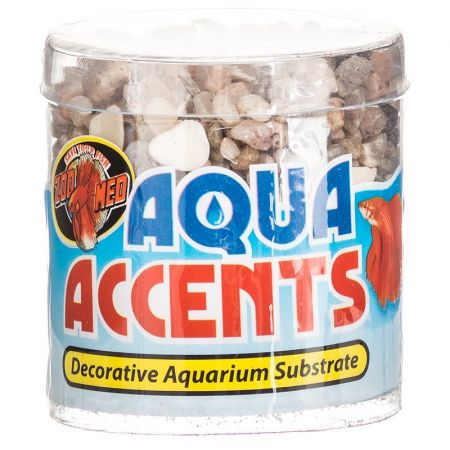 Zoo Med Zoo Med Aquatic Aqua Accents Aquarium Substrate - Light River Pebbles