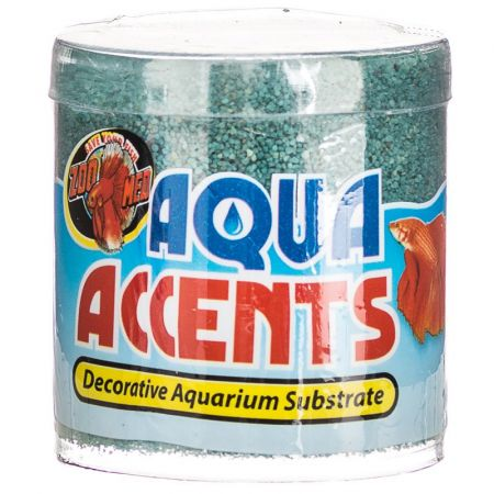 Zoo Med Zoo Med Aquatic Aqua Accents Aquarium Substrate - Teal Sand