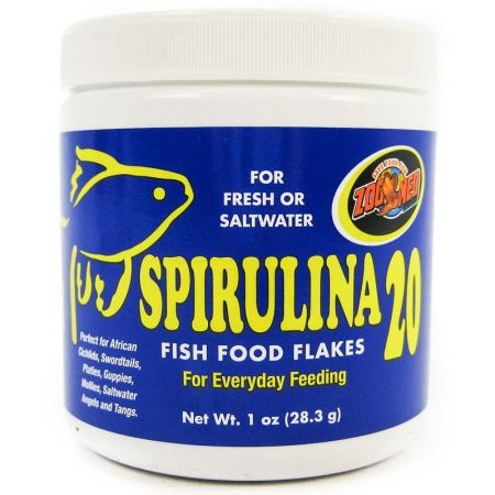 Zoo Med Zoo Med Spirulina 20 Flakes Fish Food