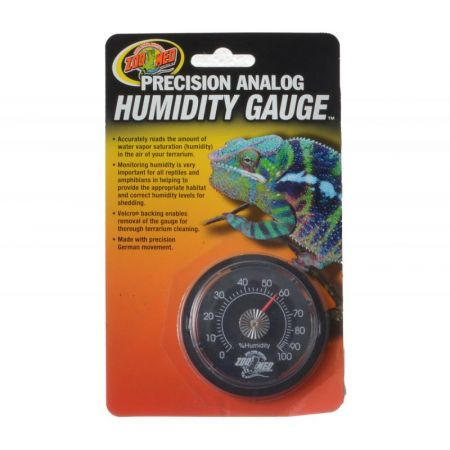 Zoo Med Zoo Med Precision Analog Reptile Humidity Gauge
