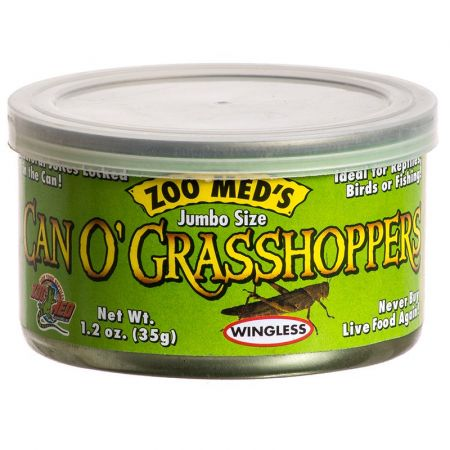 Zoo Med Can O' Jumbo Sized Grasshoppers alternate view 1